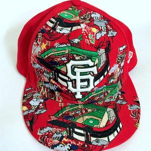 SF San Francisco 59Fifty Hat MLB Cap NEW